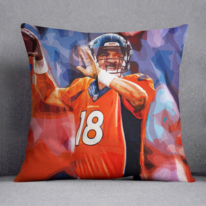 Peyton Manning Denver Broncos Cushion