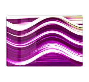 Pink Wave HD Metal Print - Canvas Art Rocks - 1
