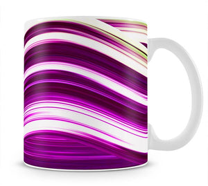 Pink Wave Mug - Canvas Art Rocks - 1