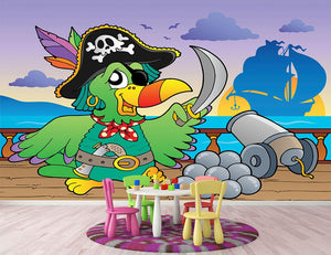 Pirate ship deck theme 5 Wall Mural Wallpaper - Canvas Art Rocks - 2