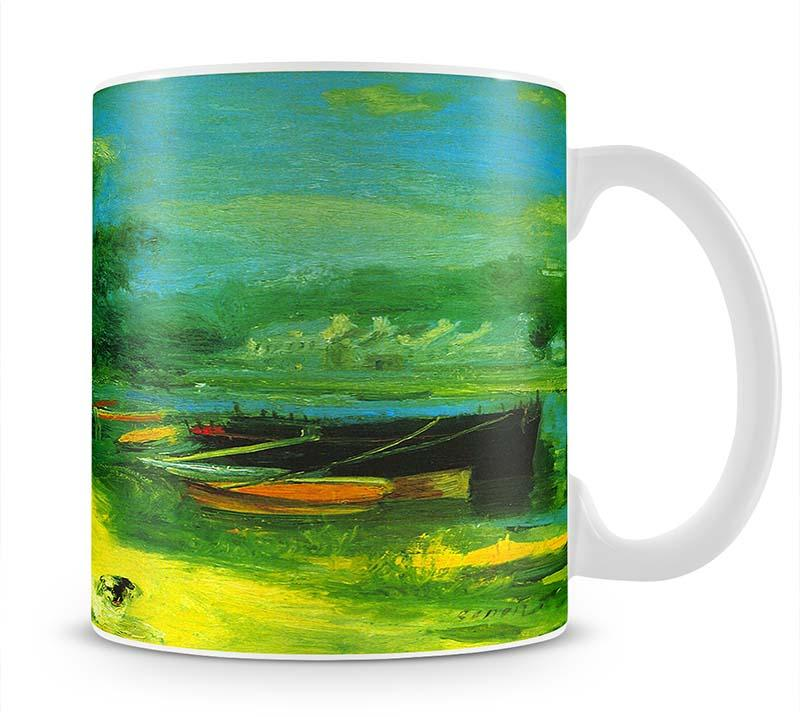 Place for Bading by Renoir Mug - Canvas Art Rocks - 1