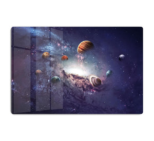 Planets in the solar system HD Metal Print