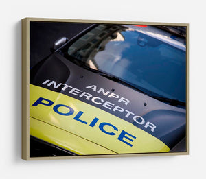 Police car HD Metal Print