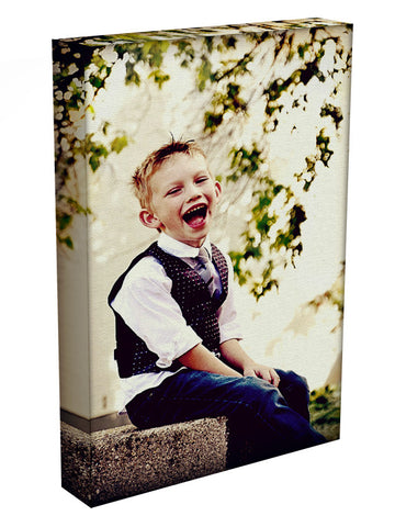 Photo Upload Portrait Canvas - They'll Love Wall Art - 1