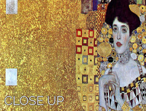Portrait of Block Bauer 2 by Klimt 3 Split Panel Canvas Print - Canvas Art Rocks - 3
