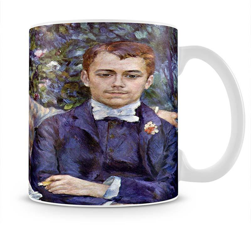 Portrait of Charles and George by Renoir Mug - Canvas Art Rocks - 1