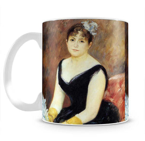 Portrait of Madame Clapisson by Renoir Mug - Canvas Art Rocks - 2