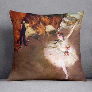 Prima Ballerina by Degas Cushion