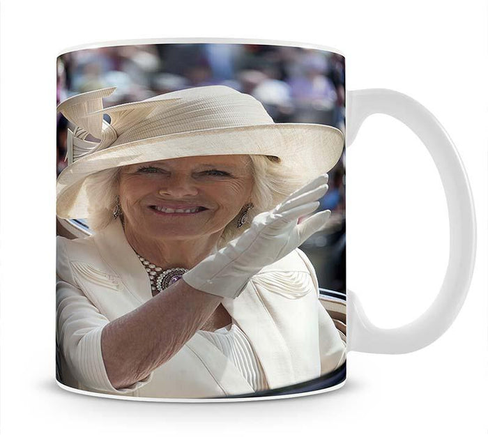 Prince Charles and Camilla at the Royal Ascot Mug