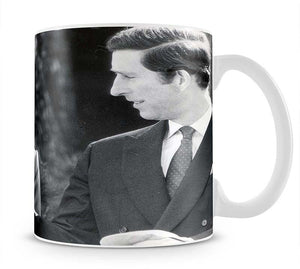 Prince Charles and Princess Diana in Vancouver Canada Mug - Canvas Art Rocks - 1