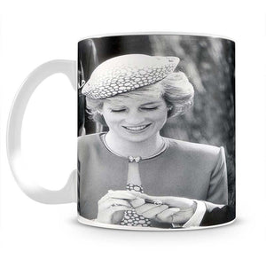 Prince Charles and Princess Diana in Vancouver Canada Mug - Canvas Art Rocks - 2