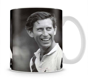 Prince Charles at New Years polo at Cowdray Park Mug - Canvas Art Rocks - 1