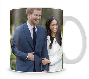 Prince Harry and fiance Meghan Markle announce their engagement Mug - Canvas Art Rocks - 1