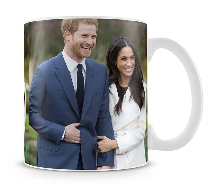 Prince Harry and fiance Meghan Markle announce their engagement Mug