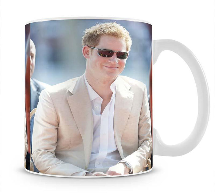 Prince Harry during the Diamond Jubilee tour in the Bahamas Mug