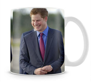 Prince Harry on a royal visit to Belize Mug - Canvas Art Rocks - 1