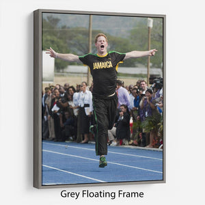 Prince Harry racing in Kingston Jamaica Floating Frame Canvas