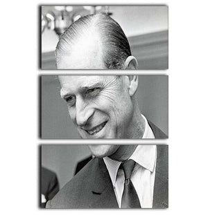 Prince Philip at Imperial House London 3 Split Panel Canvas Print - Canvas Art Rocks - 1