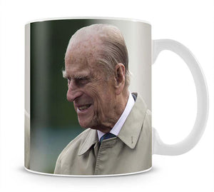 Prince Philip at the 90th birthday of Queen Elizabeth II Mug - Canvas Art Rocks - 1