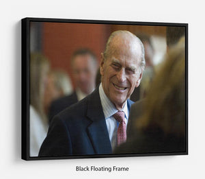 Prince Philip at the Journalists Charity at Stationers Hall Floating Frame Canvas