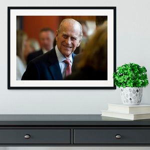 Prince Philip at the Journalists Charity at Stationers Hall Framed Print - Canvas Art Rocks - 1