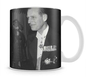 Prince Philip attending the opera at Covent Garden Mug - Canvas Art Rocks - 1