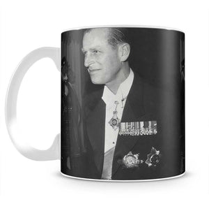 Prince Philip attending the opera at Covent Garden Mug - Canvas Art Rocks - 2