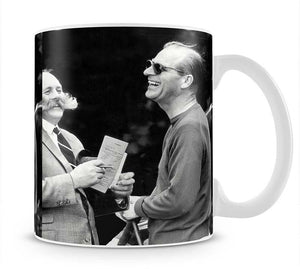 Prince Philip chatting with the comedian Jimmy Edwards Mug - Canvas Art Rocks - 1