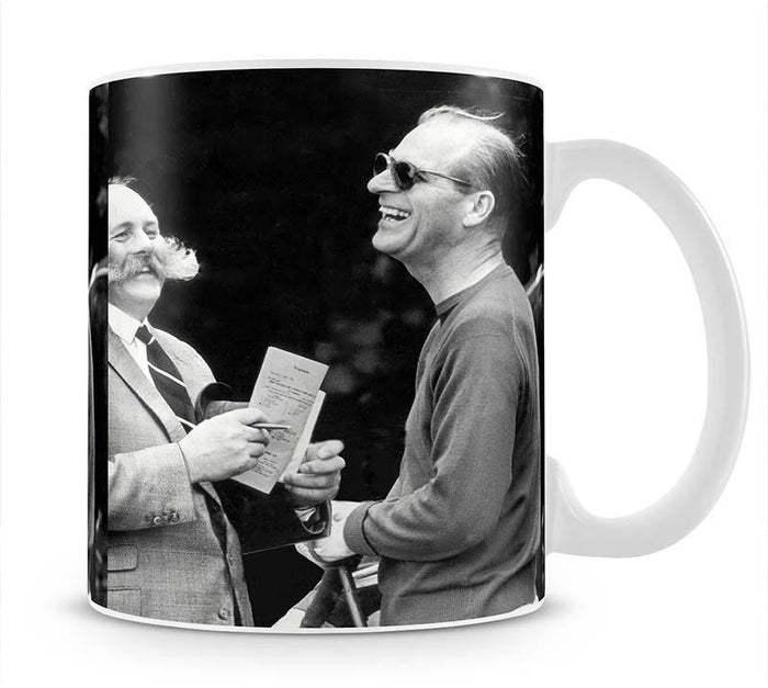 Prince Philip chatting with the comedian Jimmy Edwards Mug