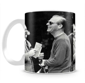 Prince Philip chatting with the comedian Jimmy Edwards Mug - Canvas Art Rocks - 2