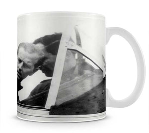 Prince Philip in the cockpit about to receive his RAF Wings Mug - Canvas Art Rocks - 1