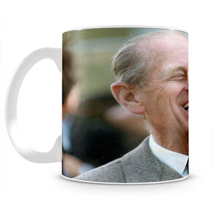 Prince Philip laughing at the Royal Windsor Horse Show Mug - Canvas Art Rocks - 2