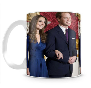 Prince William and Kate announcing their engagement Mug - Canvas Art Rocks - 2