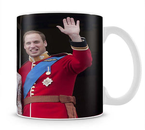 Prince William and Kate waving on their wedding day Mug - Canvas Art Rocks - 1