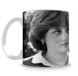 Princess Diana meeting the press for the first time Mug - Canvas Art Rocks - 2