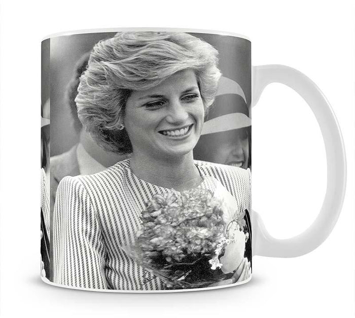 Princess Diana walkabout in Puckapunyal near Melbourne Mug