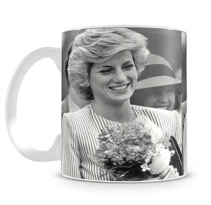 Princess Diana walkabout in Puckapunyal near Melbourne Mug - Canvas Art Rocks - 2