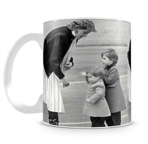 Princess Diana with little Prince Harry and Prince William Mug - Canvas Art Rocks - 2