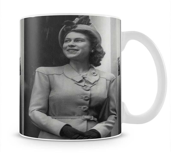 Princess Elizabeth Queen Elizabeth II in London Mug