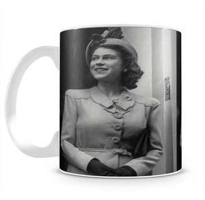 Princess Elizabeth Queen Elizabeth II in London Mug - Canvas Art Rocks - 2