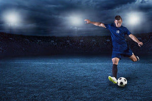 Professional soccer Wall Mural Wallpaper - Canvas Art Rocks - 1