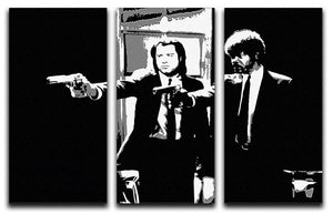 Pulp Fiction Path of the Righteous Man 3 Split Panel Canvas Print - Canvas Art Rocks - 4