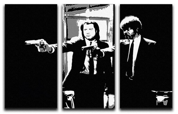 Pulp Fiction Path of the Righteous Man 3 Split Panel Canvas Print