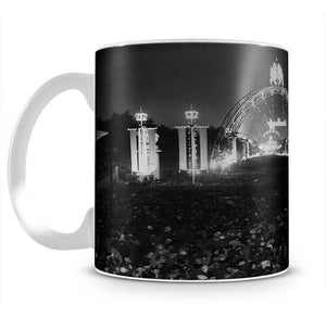 Queen Elizabeth II Coronation floodlit fairy arches Mug - Canvas Art Rocks - 2