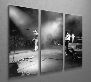 Queen Live 3 Split Panel Canvas Print - Canvas Art Rocks - 2