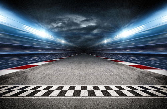 Race Track Wall Mural Wallpaper