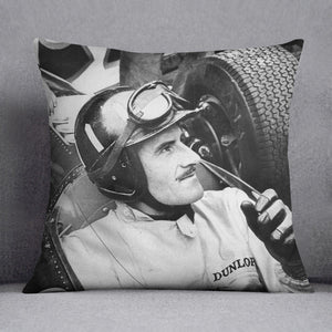 Racing driver Graham Hill Cushion