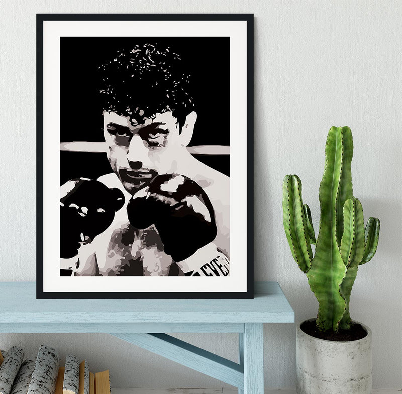 Raging Bull Framed Print - Canvas Art Rocks - 1