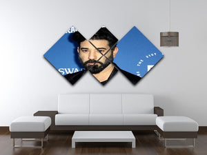 Ray Panthaki 4 Square Multi Panel Canvas  - Canvas Art Rocks - 3