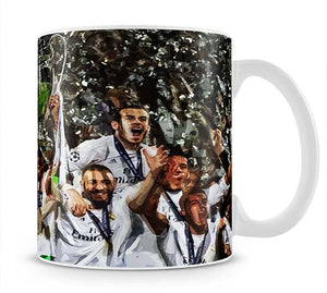 Real Madrid Champions League 2017 Mug - Canvas Art Rocks - 1